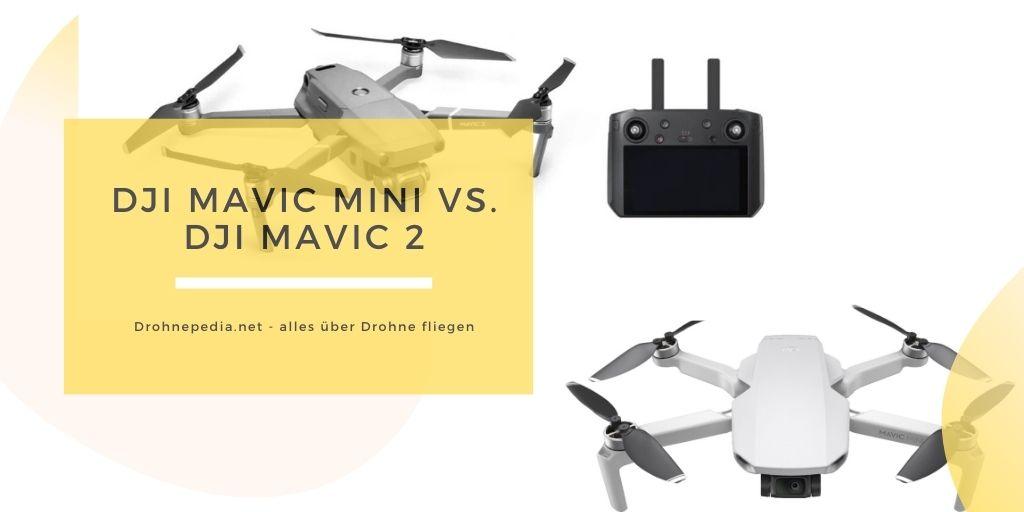 DJI Mavic Mini vs. DJI Mavic 2
